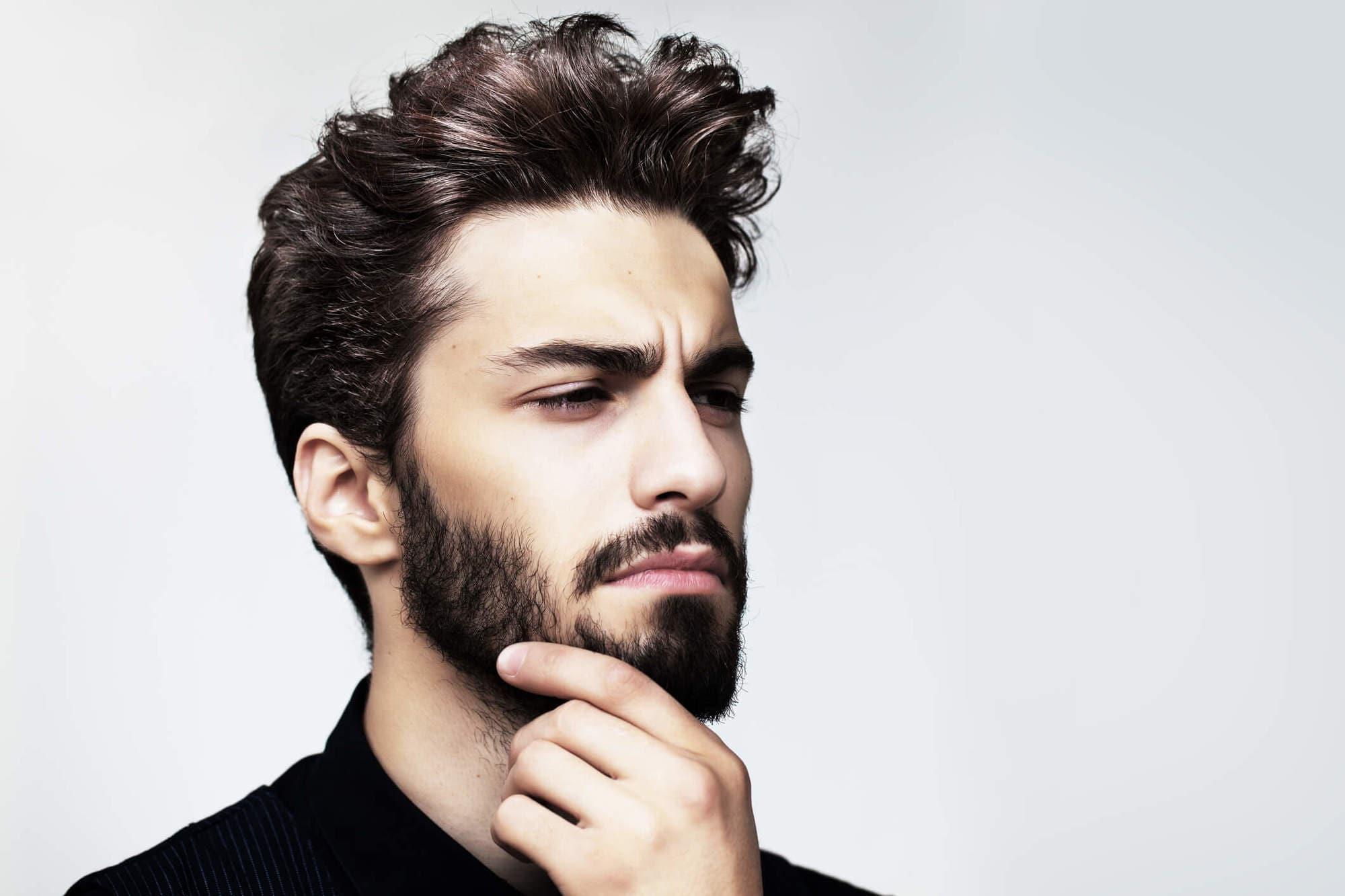 cortes de pelo con barba taper relleno