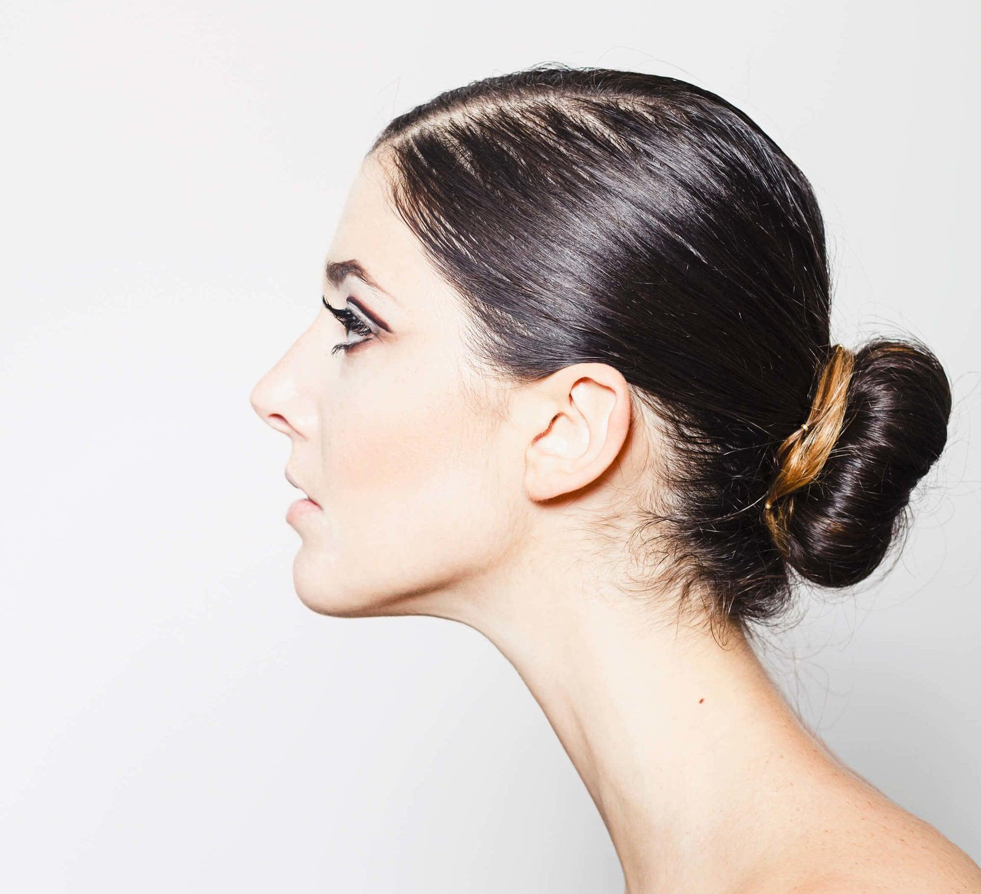 peinados recogidos sencillos dona baja