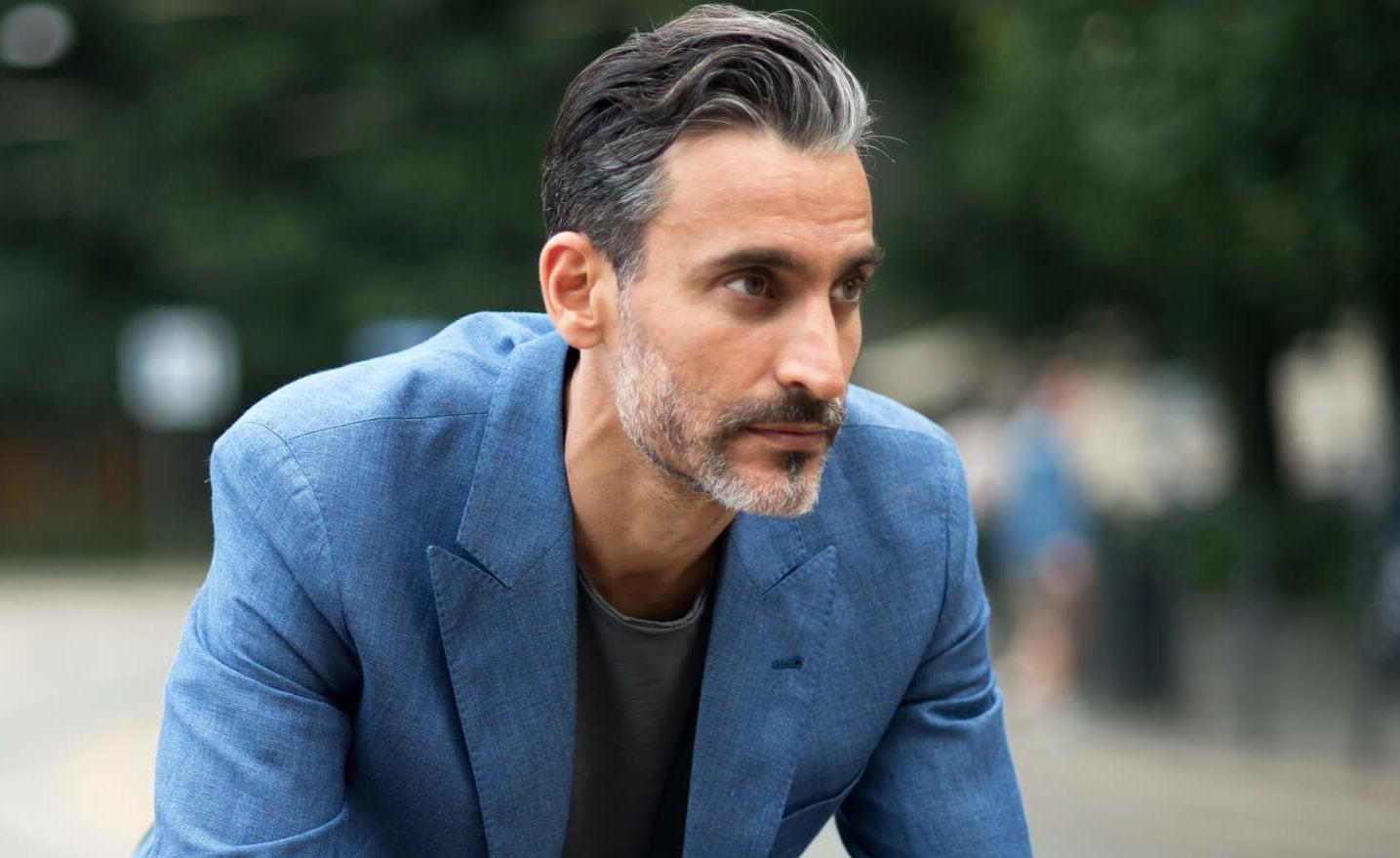Peinados para hombres mayores de 50