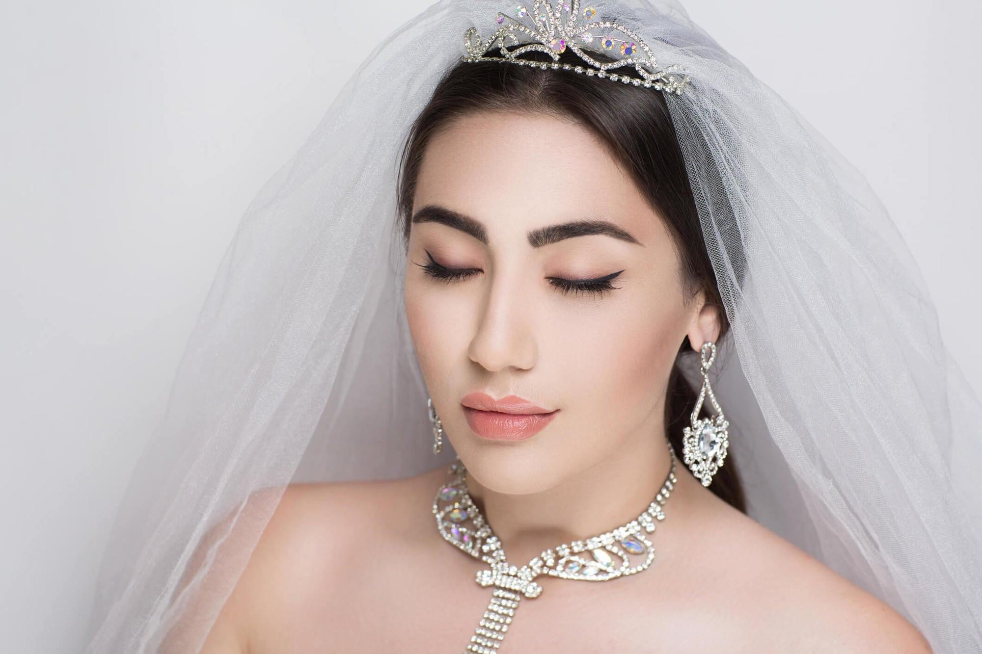 Peinados para novia con velo