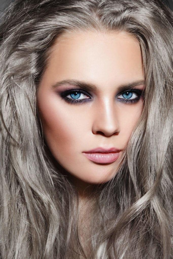 Color rubio ceniza para el pelo