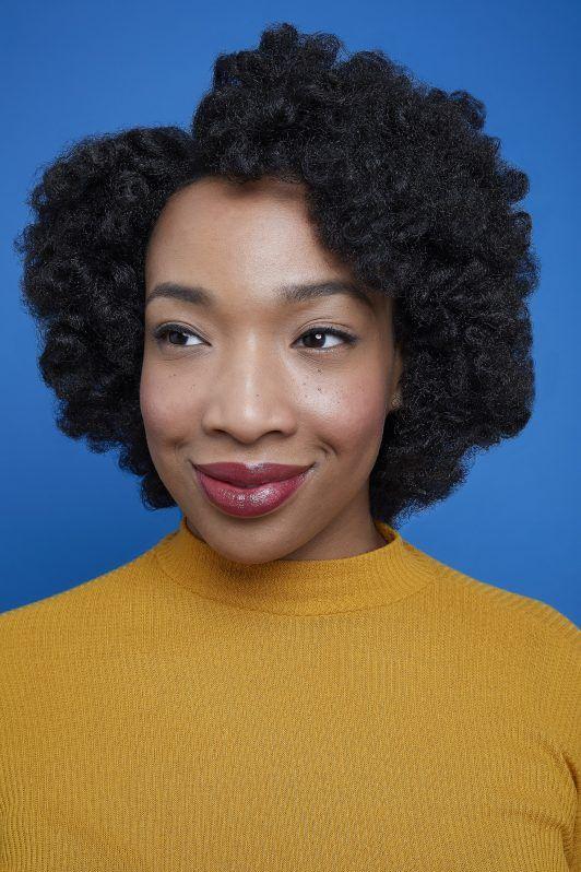 rizos en transición pelo negro