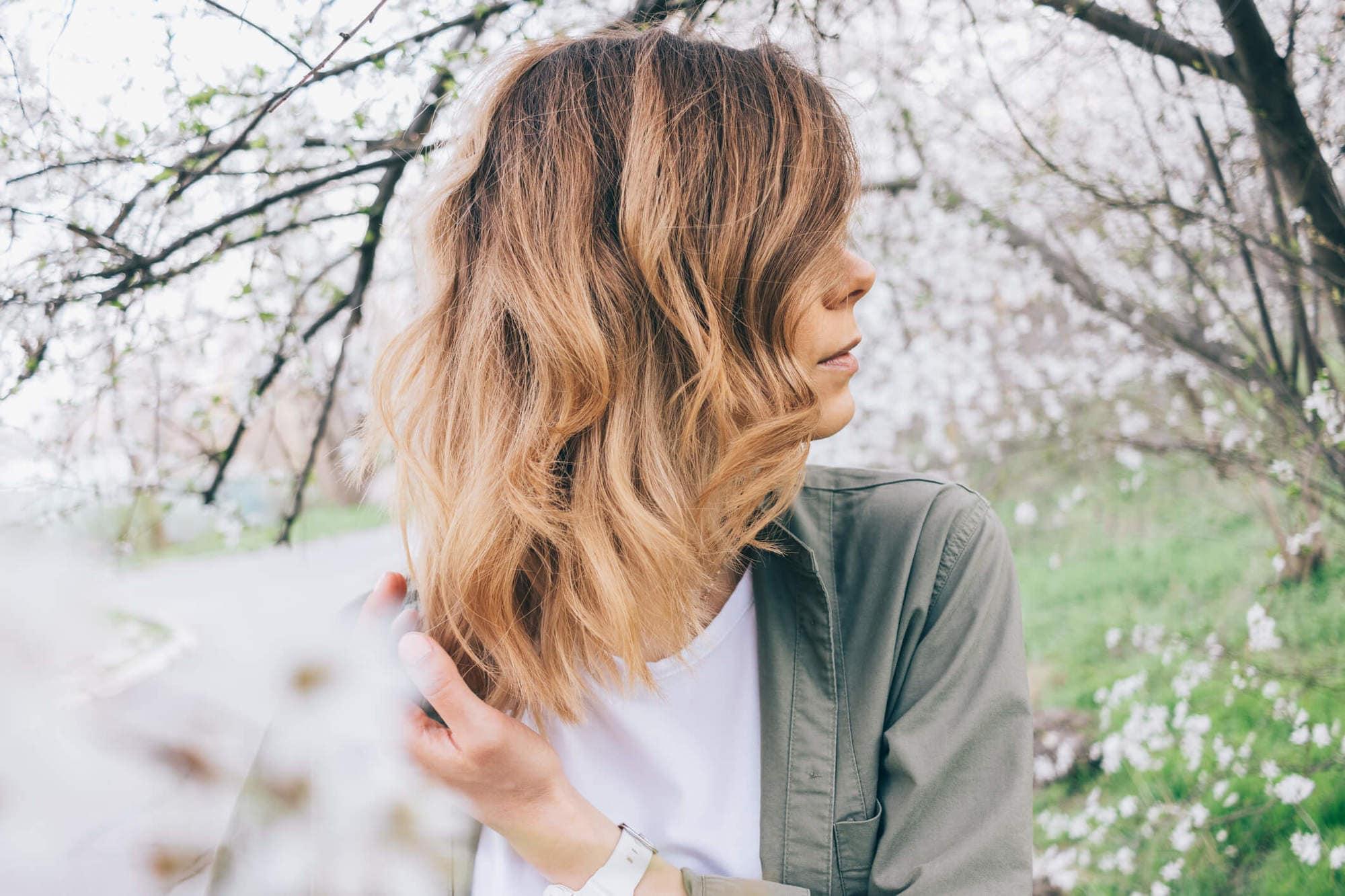 corte de pelo en capas largas en cascada