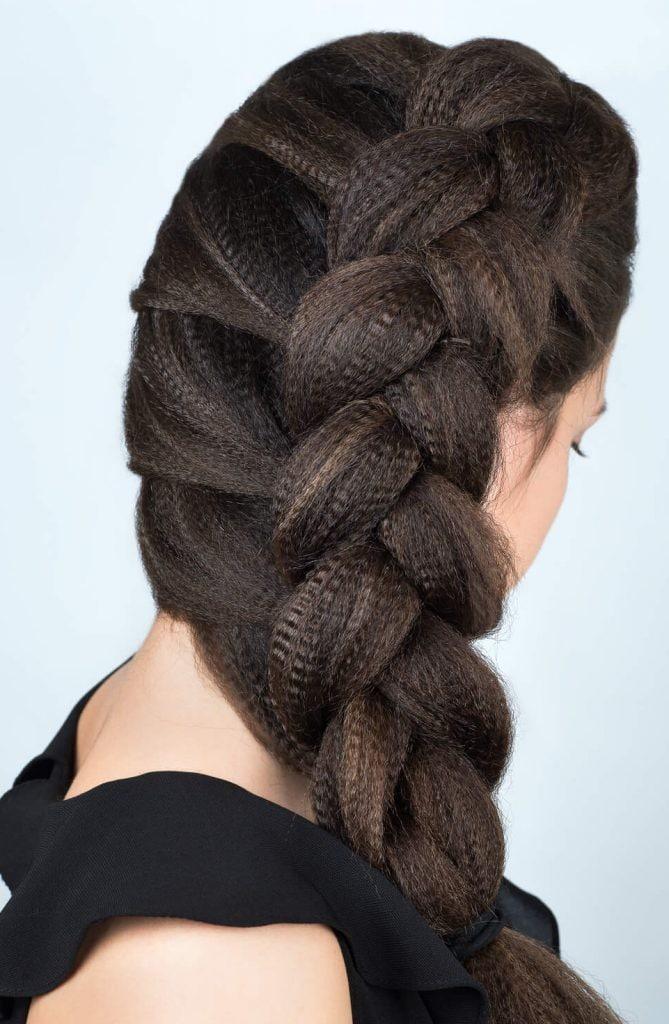 14 Peinados Recogidos Con Trenzas Para Fiestas Encantadores