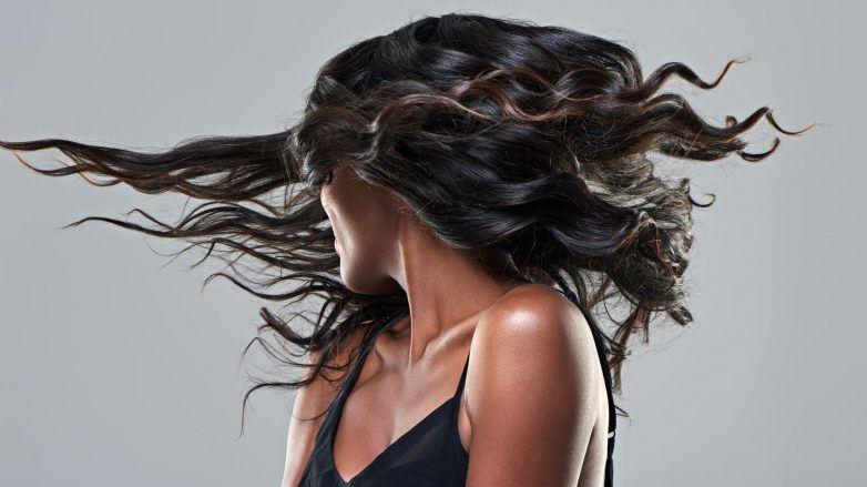 rayitos en pelo negro