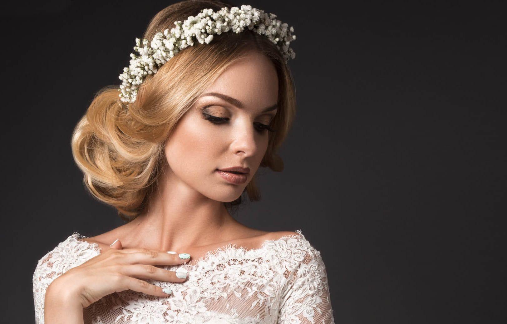 peinados de novia medio recogidos victoriano