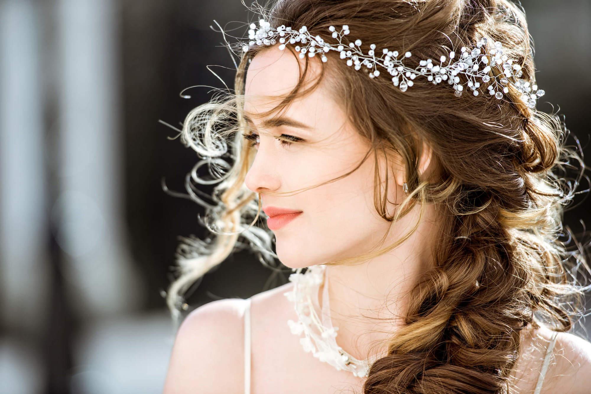 peinados de novia medio recogidos racimo de uvas