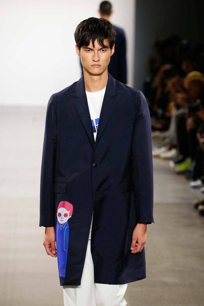 flequillo cortina en capas modelo