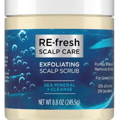 RE-fresh Sea Mineral + Cleanse Exfoliating Scalp Scrub