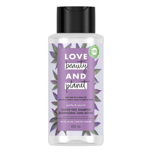 Love, Beauty And Planet Hemp Seed Oil & Nana Leaf Shampoo