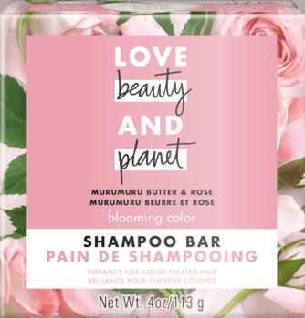 Love, Beauty and Planet Murumuru Butter & Rose Shampoo Bar