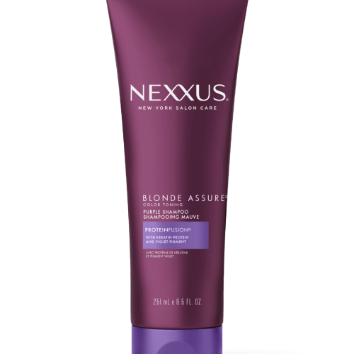 Nexxus Blonde Assure Purple Shampoo for Blonde & Silver Hair