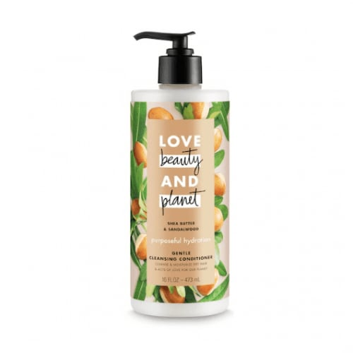 Love Beauty and Planet Purposeful Hydration Shea Butter & Sandalwood Cleansing Conditioner
