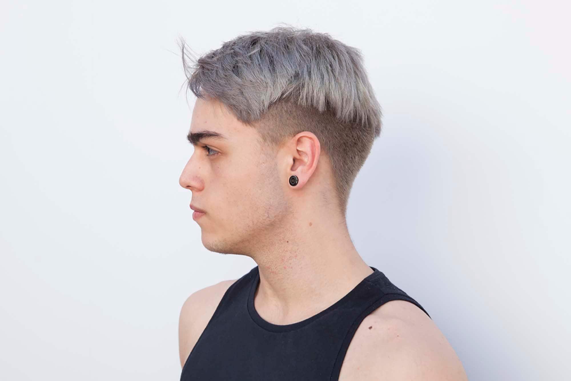 мужские цвета волос