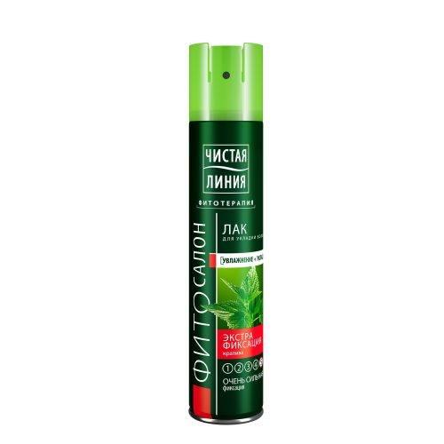 Чистая Линия лак для укладки волос Экстрафиксация