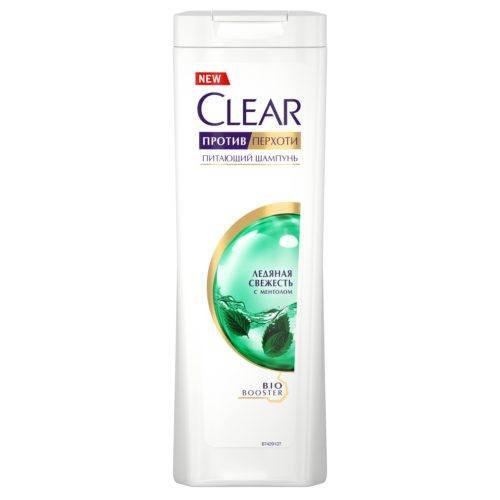 Clear шампунь против перхоти «Ледяная свежесть с ментолом»