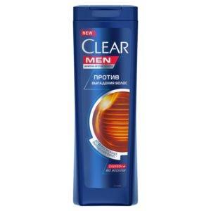 Шампунь Clear Men против выпадения волос с кофеином