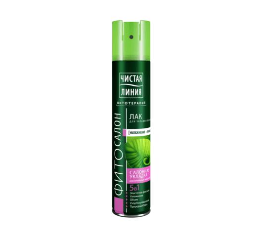 Лак для укладки волос «Природный блеск» марки «Чистая Линия»