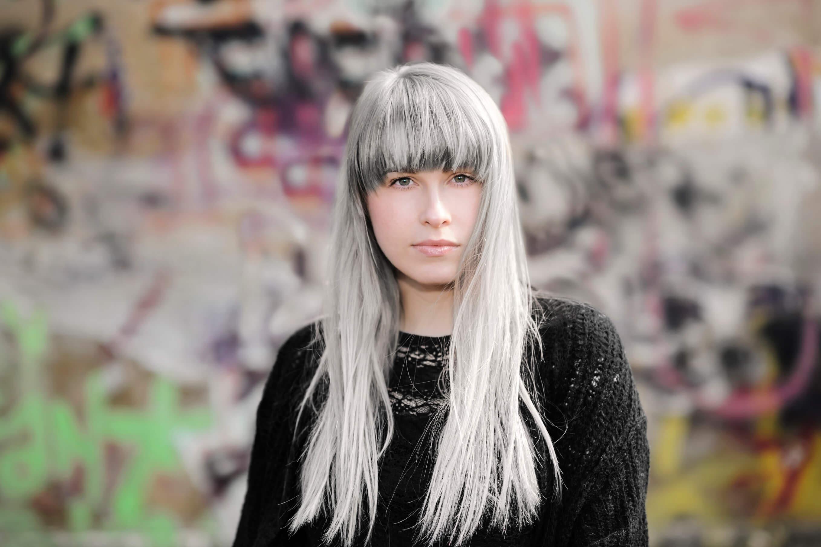 холодный цвет волос