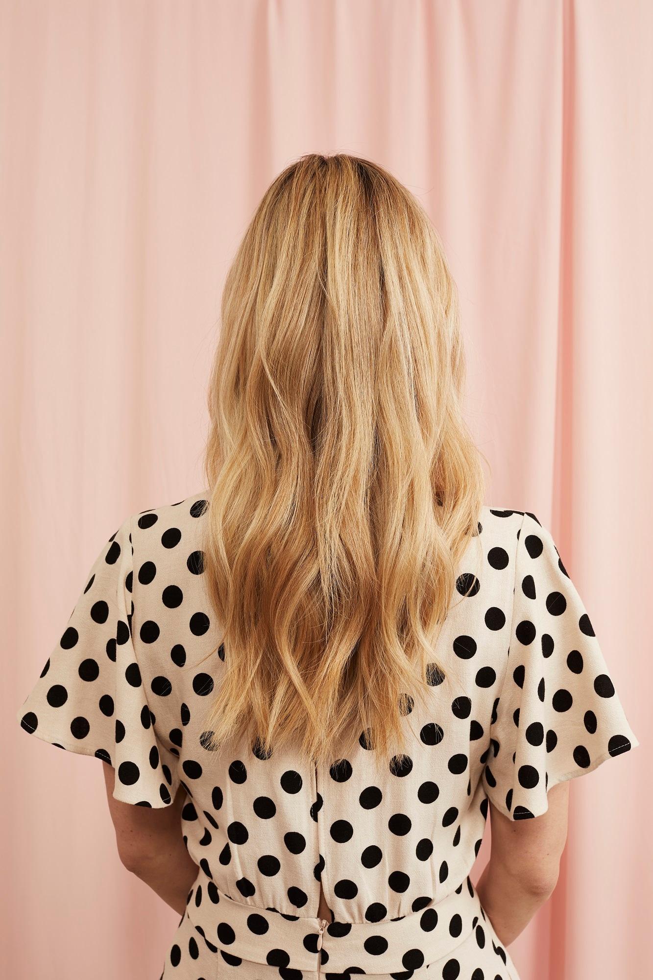 светлые волос
