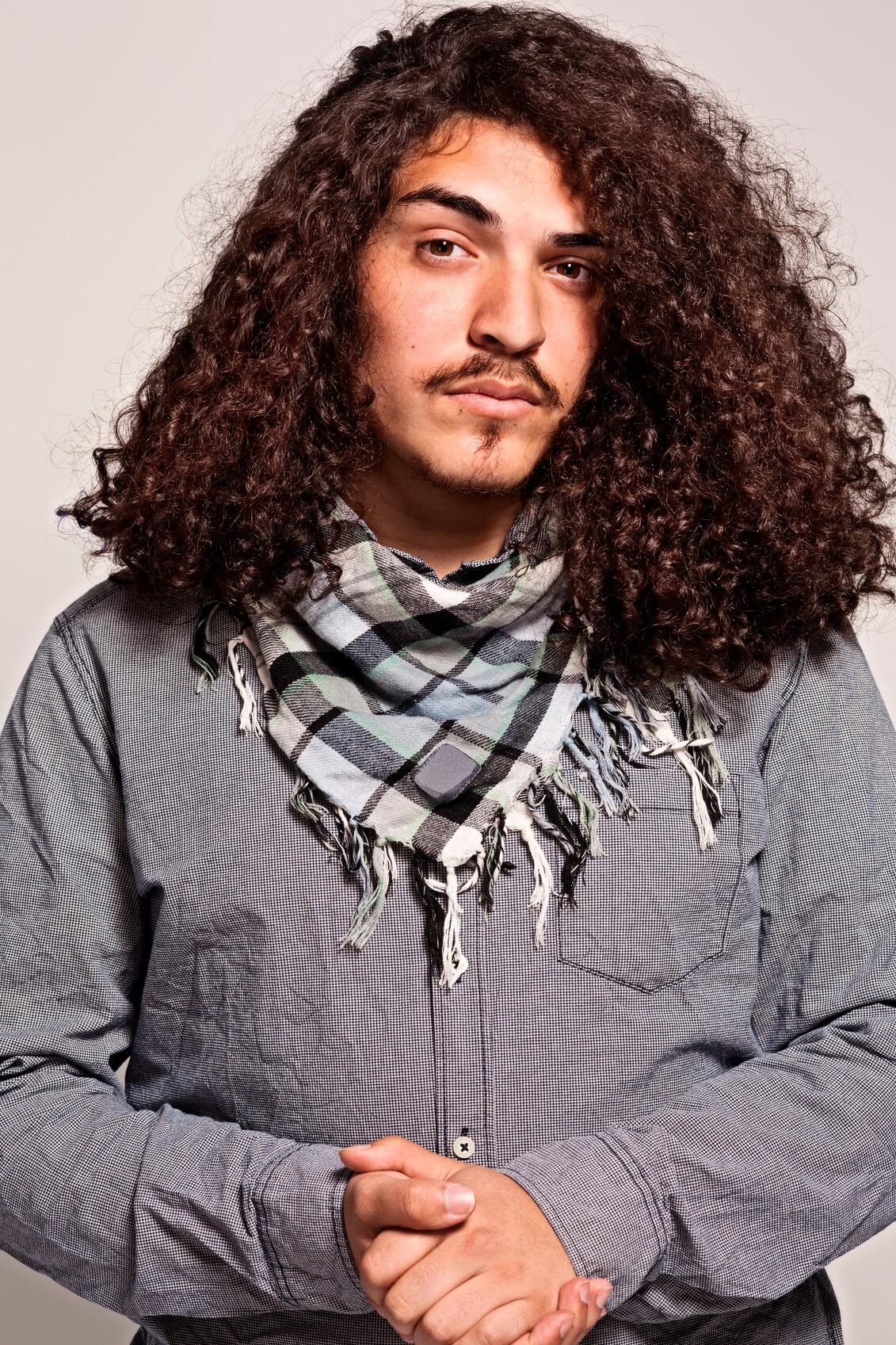 мужские стрижки для густых волос: