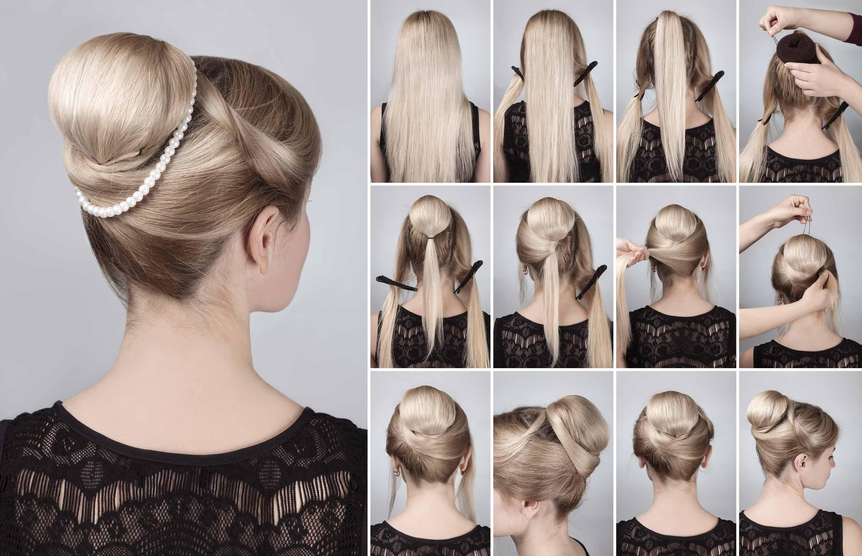 прически на прямые волосы