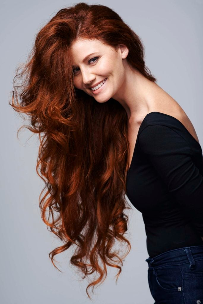 медный цвет волос