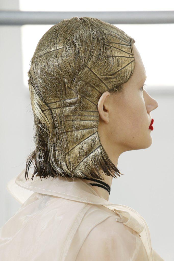 фольга в волосах