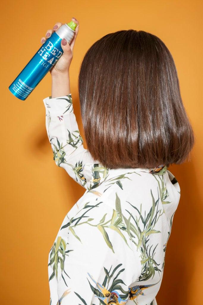 как выпрямить волосы
