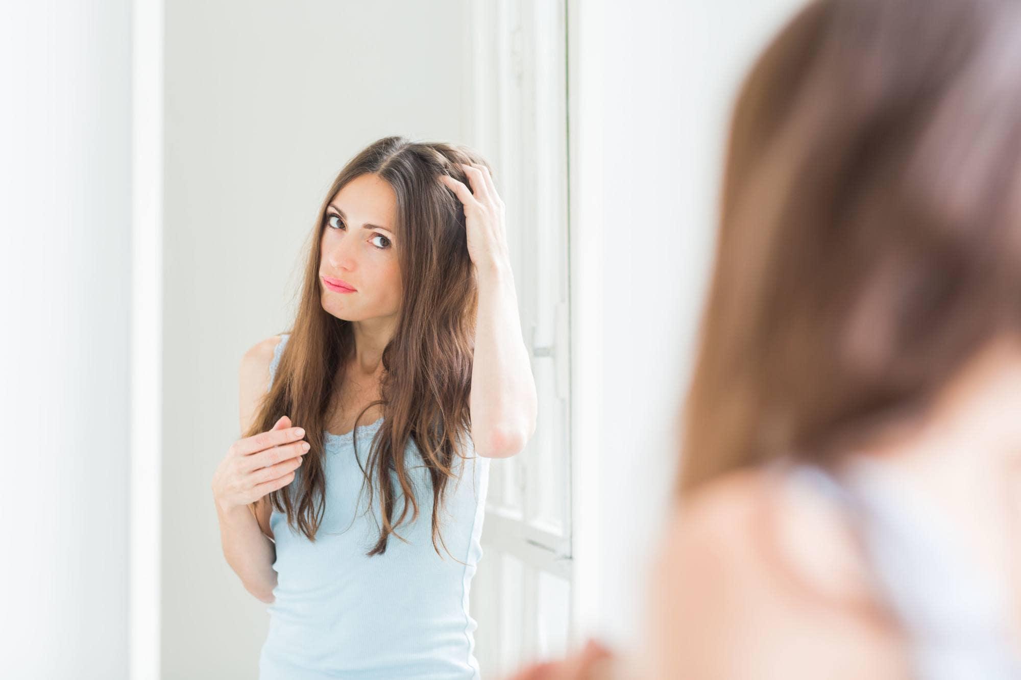 Перхоть или сухая кожа головы