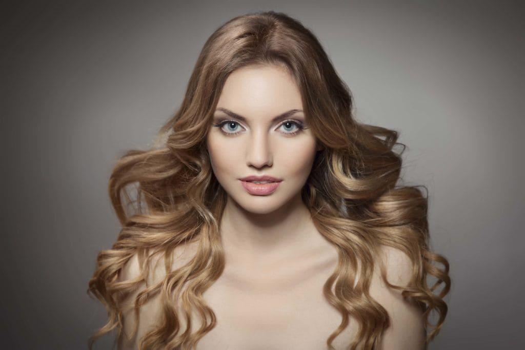 теплые цвета волос