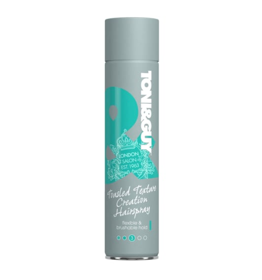Лак-спрей для волос «Легкая фиксация» Toni&Guy Tousled Texture Creation HairSpray