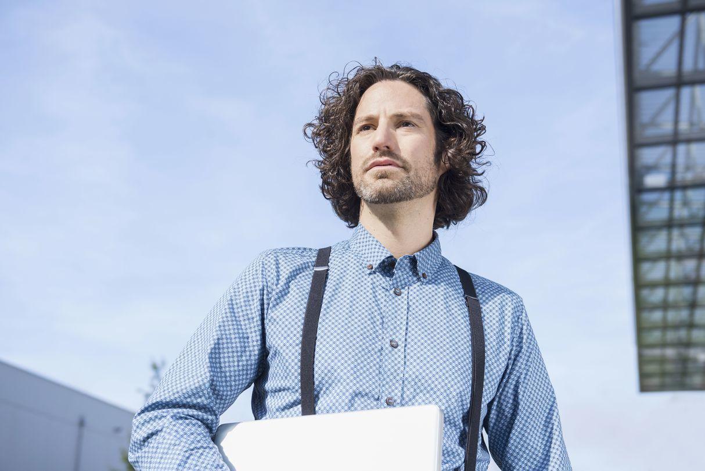 мужские стрижки для вытянутого лица