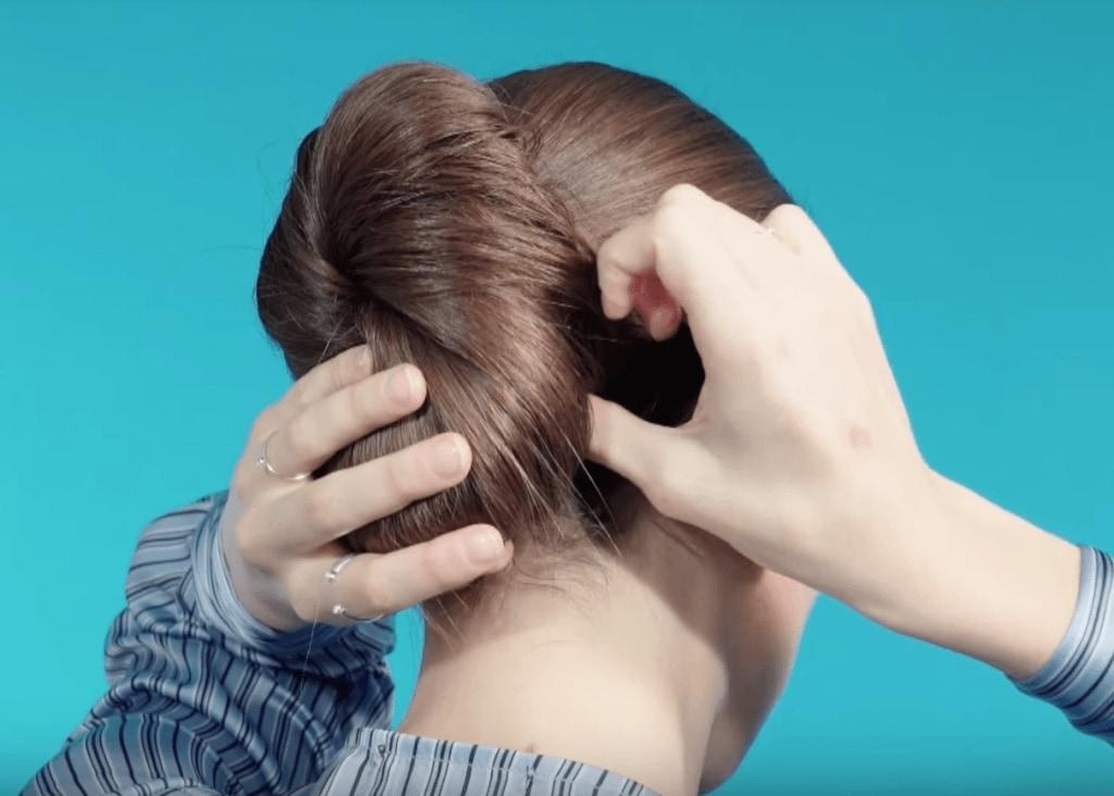 бублик для волос