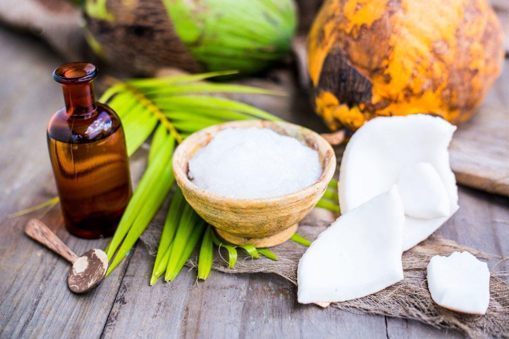 кокосовое масло от перхоти