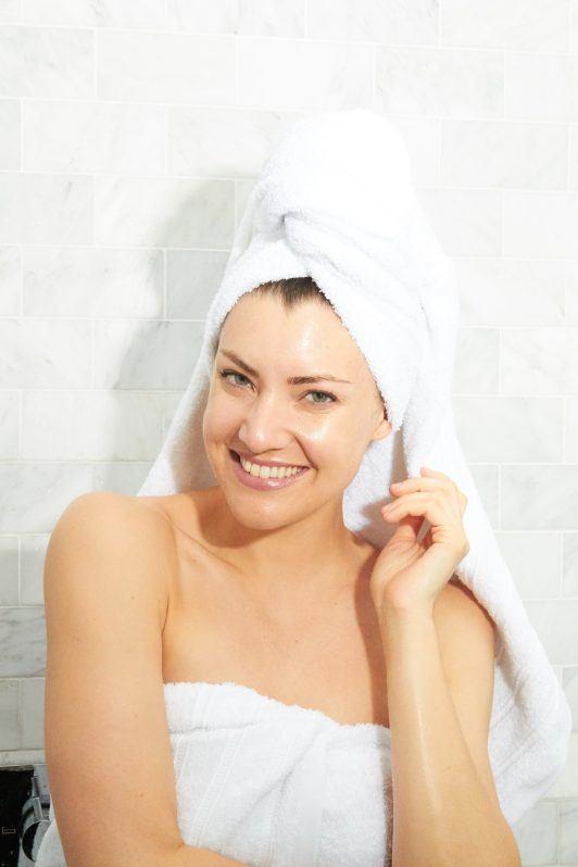 как сушить волосы