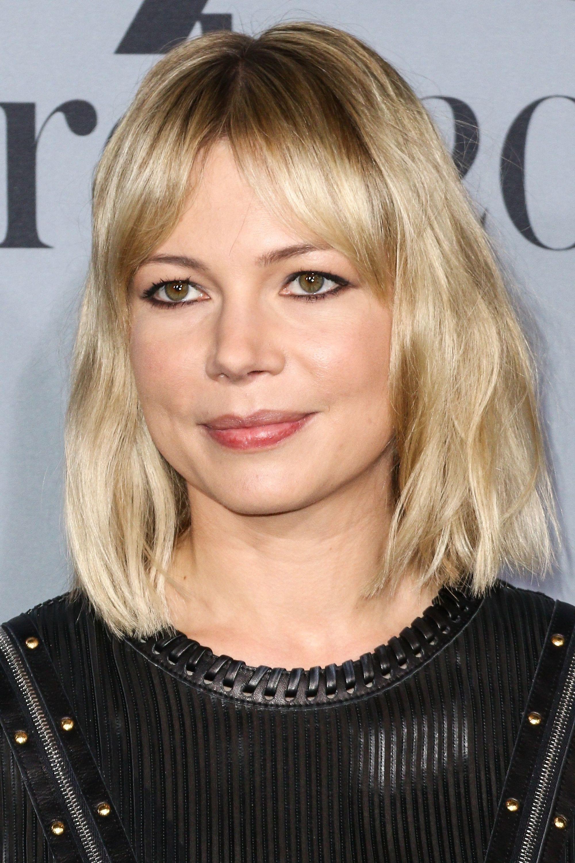 каре прямой пробор блондинка стрижки по типу лица