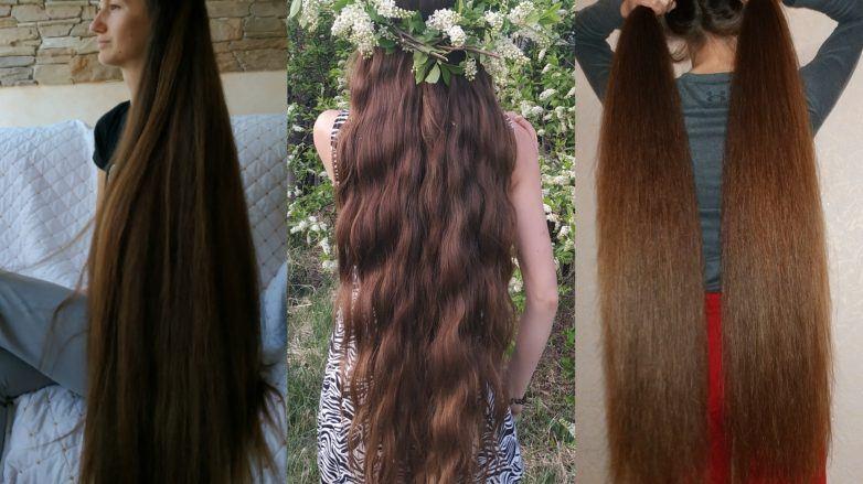 очень длинные волосы русые волосы волнистые венок