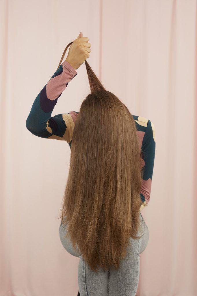 Коса снизу вверх