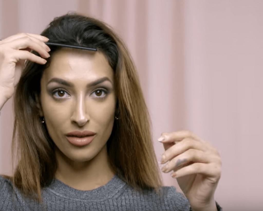 как пользоваться бигуди коричневые волосы расческа