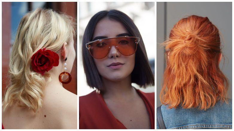 короткие средние волосы до плеч каре прямые волнистые блонд рыжие коричневые как выбрать краску для волос
