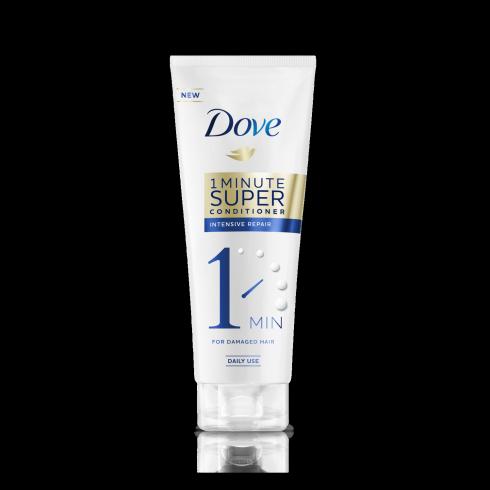 Супер-кондиционер для волос Dove 1-минутный «Интенсивное восстановление»