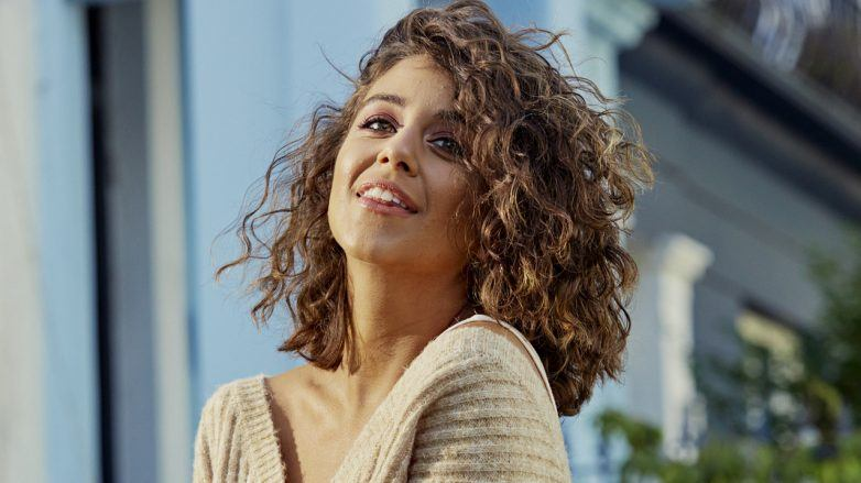 кудрявый метод коричневые волосы кудри каре