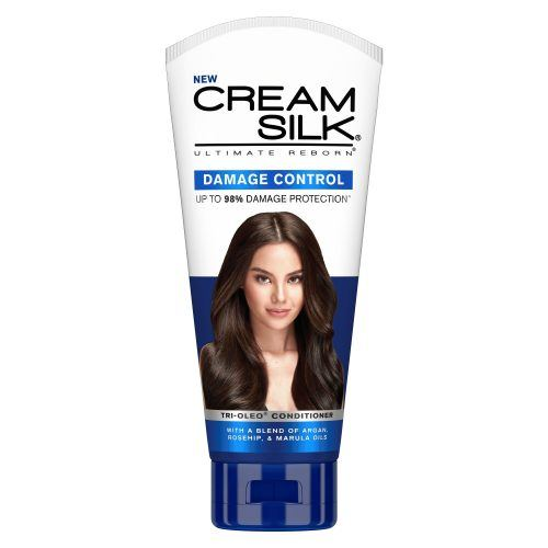 Tube of Cream Silk Ultimate Reborn Damage Control Conditioner