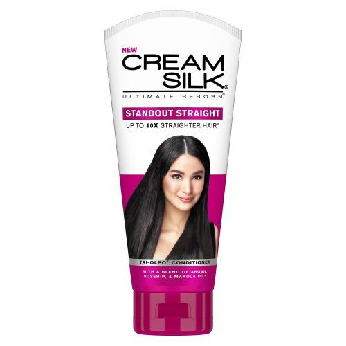Bottle of Cream Silk Ultimate Reborn Standout Straight Conditioner