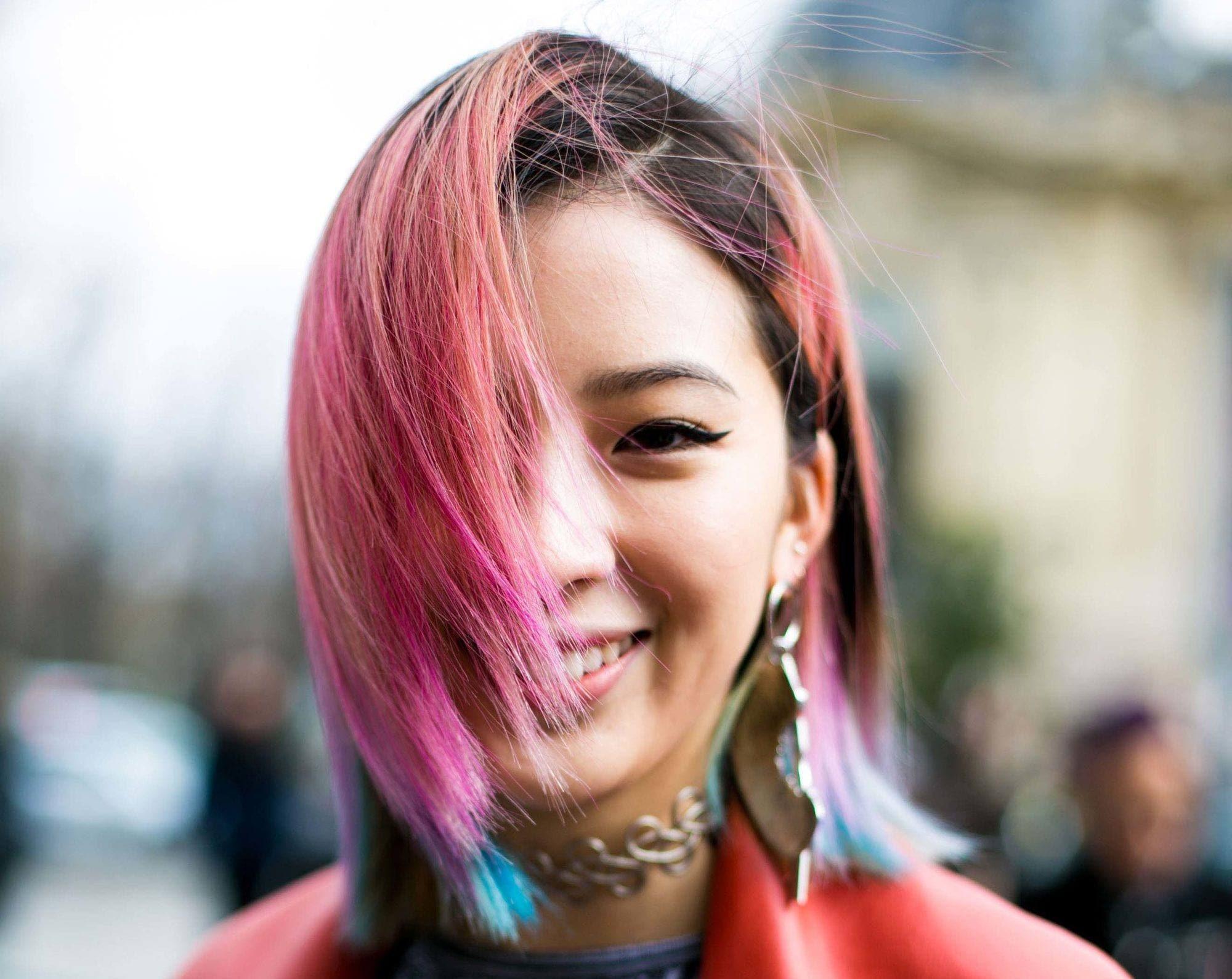 DIY hair color - multiple colors