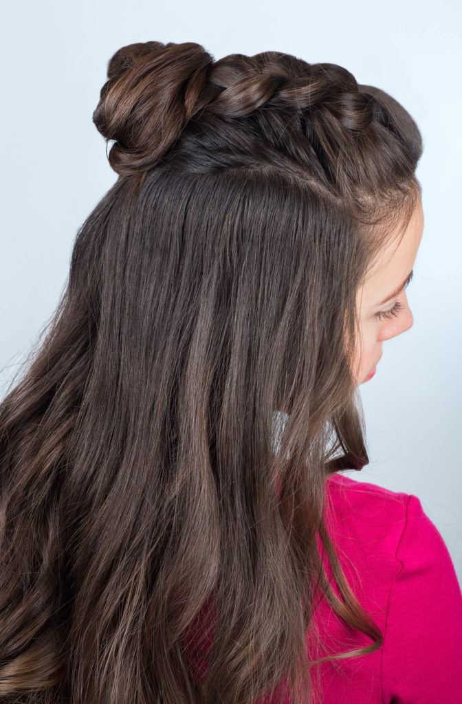Half Up Half Down Hairstyles Perfect For Second Day Hair