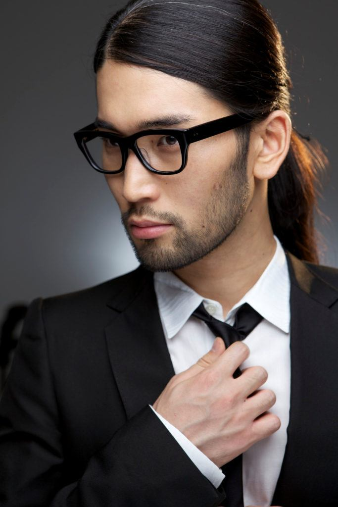 low ponytail is one of the easiest long hairstyles for men