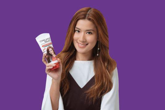 janeena chan braided updo top knot creamsilk conditioner