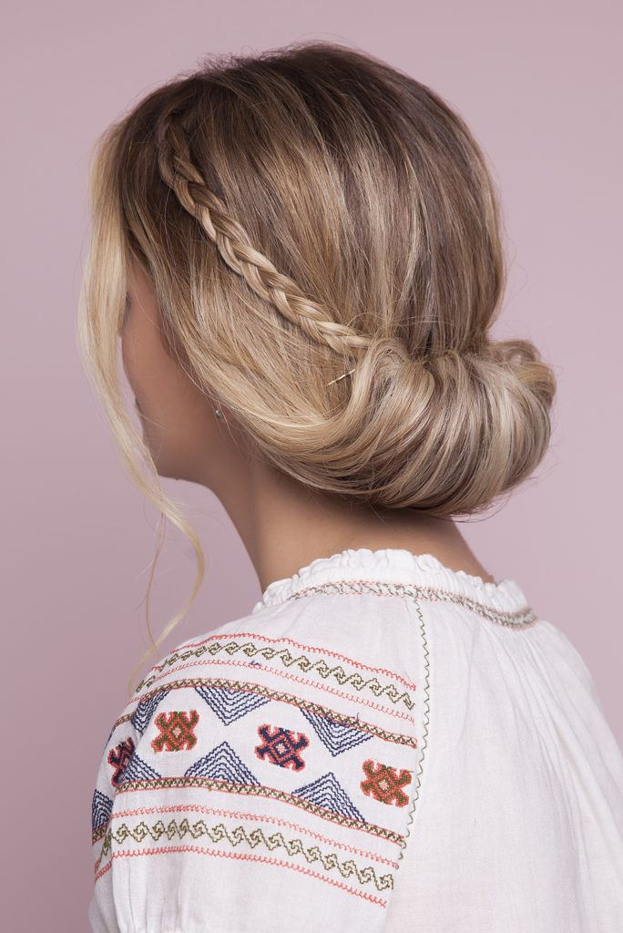 low small crown hair